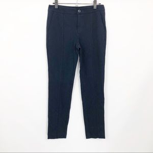 CAbi Capote Pants Crop Navy Stretch Style 5073